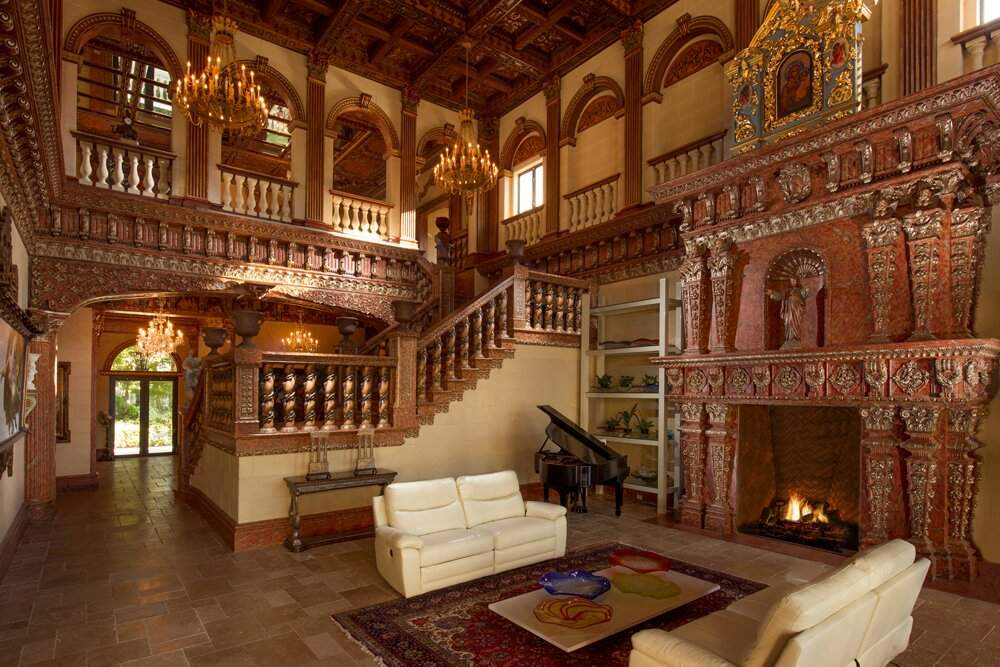 Фото дом Винчестеров - внутри