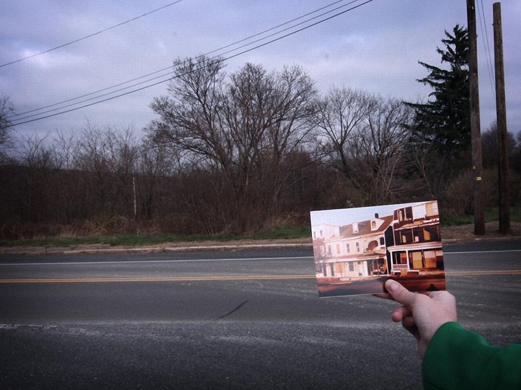 Иллюстрация на тему Сентрейлия в Пенсильвании - печальная история покинутого города