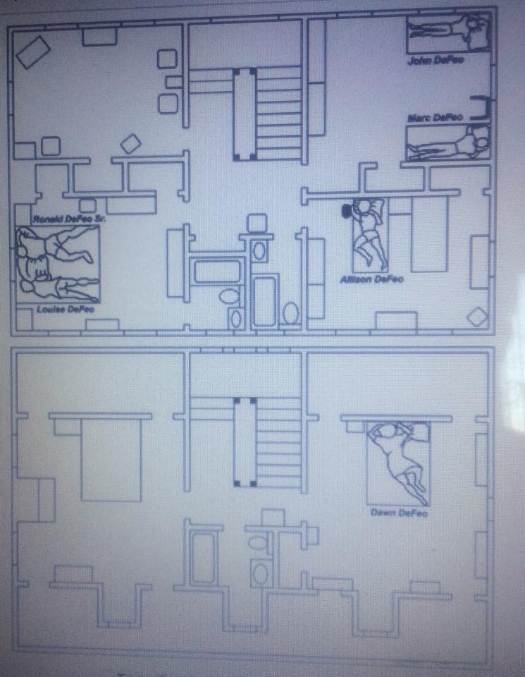 Иллюстрация на тему Ужас Амитивилля - реальная история проклятого дома