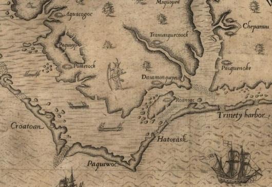 Таинственный остров Роанок