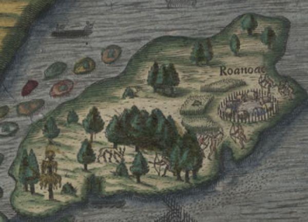 Роанок и колония