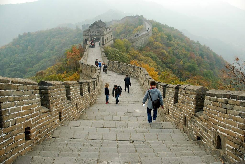Иллюстрация на тему Великая китайская стена - достопримечательность Китая