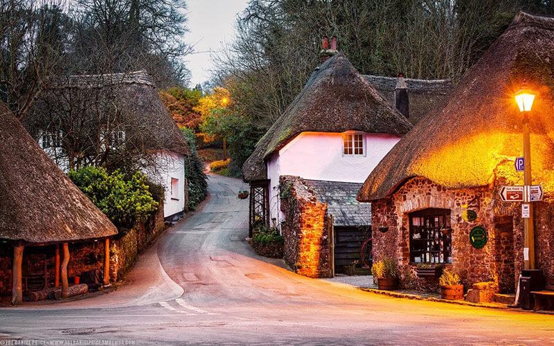 Иллюстрация на тему Девоншир, сказочное графство на юго-западе Англии: история и легенды
