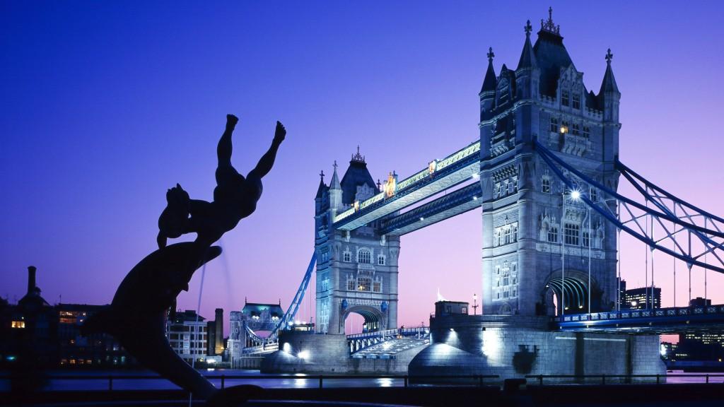 Иллюстрация на тему Тауэрский мост, одна из главных достопримечательностей Лондона
